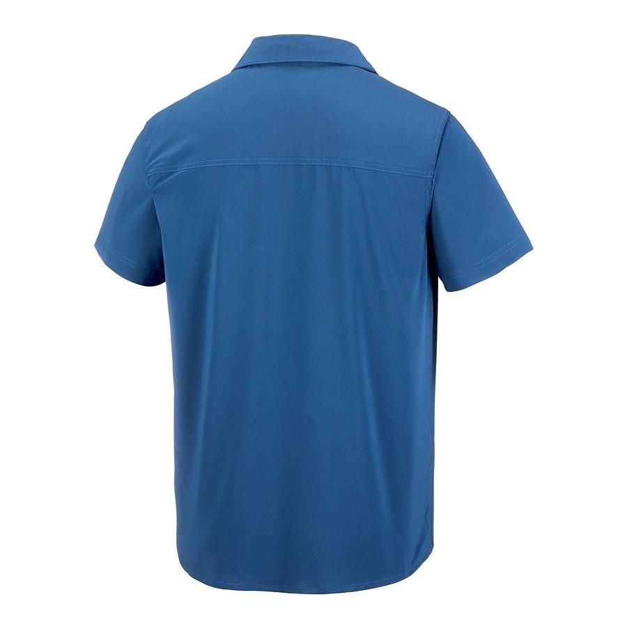 חולצה קצרה לגברים - Triple Canyon Solid S/S - Columbia