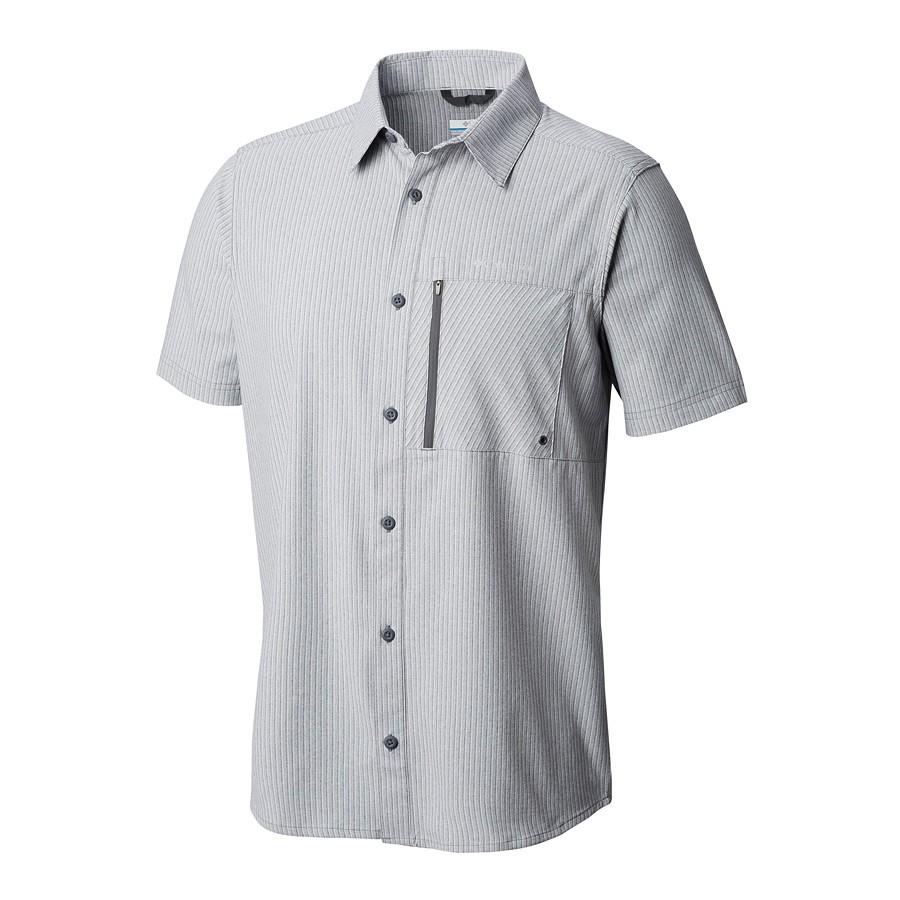 חולצה קצרה לגברים - Tech Trail S/S - Columbia