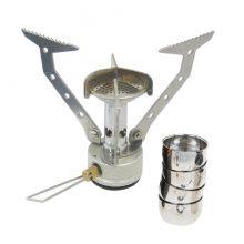 סט גזיה וכוסות לקפה - FMS103 Pocket Jet - Fire Maple