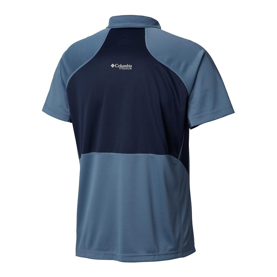 חולצה פולו מקררת לגברים - Titan Trail Polo - Columbia