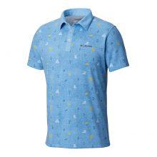 חולצת פולו לגברים - Thistletown Park Polo - Columbia