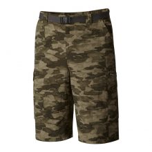 מכנסי דגמח קצרים - Silver Ridge Printed Cargo Short - Columbia
