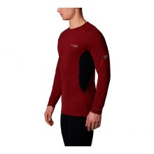 חולצה תרמית ארוכה לגברים - Titanium OH3d Knit Crew - Columbia