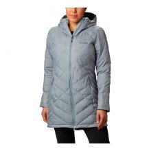 מעיל מבודד לנשים - Heavenly Long Hooded Jacket - Columbia