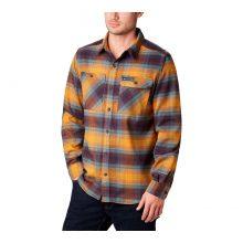 חולצת פלנל לגברים - Outdoor Elements Stretch Flannel - Columbia