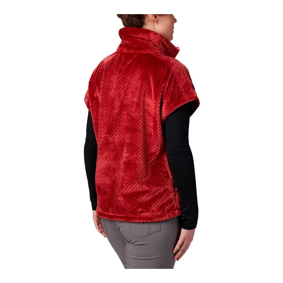 מעיל פליס לנשים - Fire Side III Sherpa Shrug - Columbia