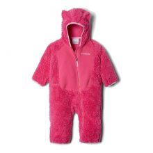 סרבל פליס מלא לתינוקות - Foxy Baby Sherpa Bunting - Columbia