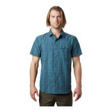 חולצה קצרה לגברים - Greenstone S/S Shirt - Mountain Hardwear