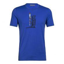 חולצה טי קצרה לגברים - M Tech Lite S/S - Icebreaker